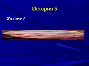 История 5 Кто это ?