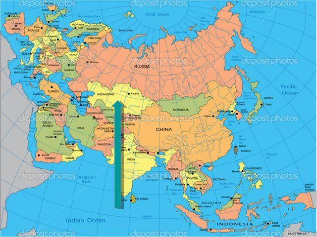 Сабақтың тақырыбы: Қазақстан әлем картасында