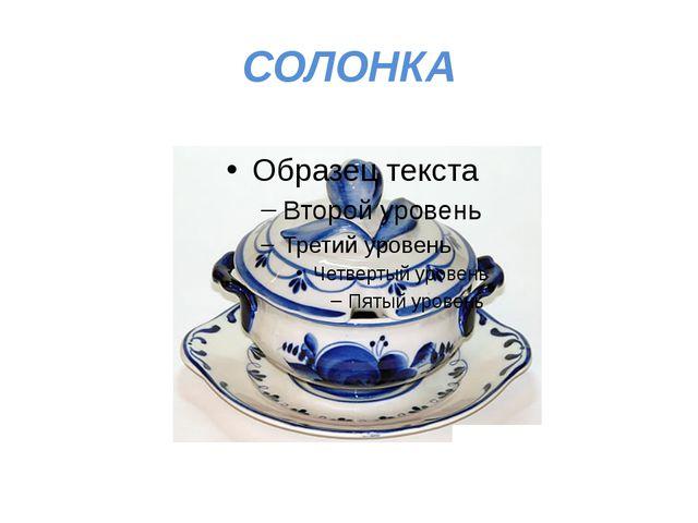 СОЛОНКА