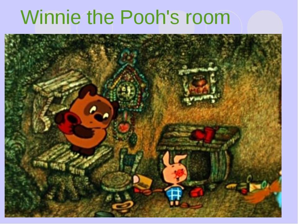 Winnie the Pooh's room