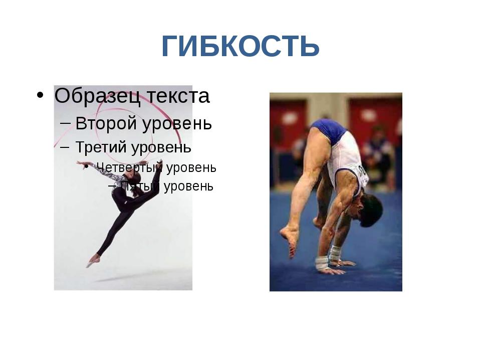 ГИБКОСТЬ