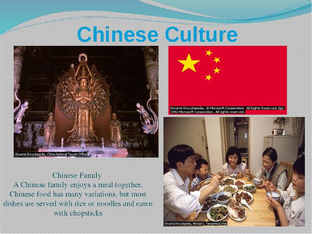 Chinese Culture Chinese Family A Chinese family enjoys a meal together. Chine...
