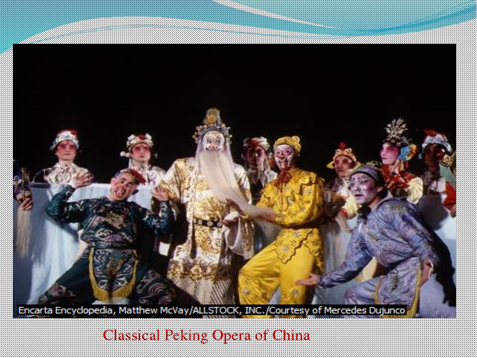 Classical Peking Opera of China