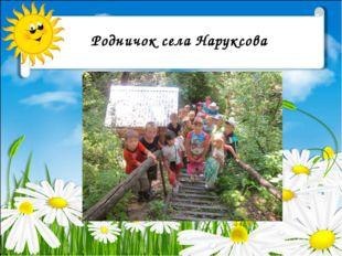 Родничок села Наруксова