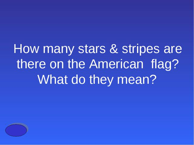 How many stars & stripes are there on the American flag? What do they mean?