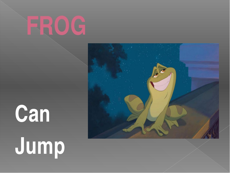 FROG Can Jump