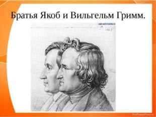 Братья Якоб и Вильгельм Гримм.