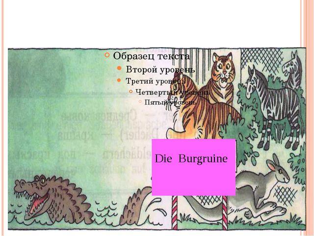 Die Burgruine
