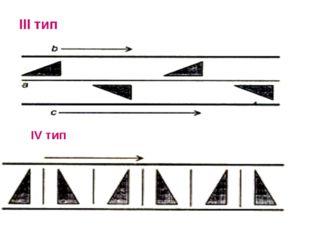 III тип IV тип