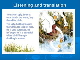 Listening and translation