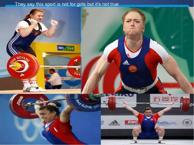 They say this sport is not for girls but it's not true