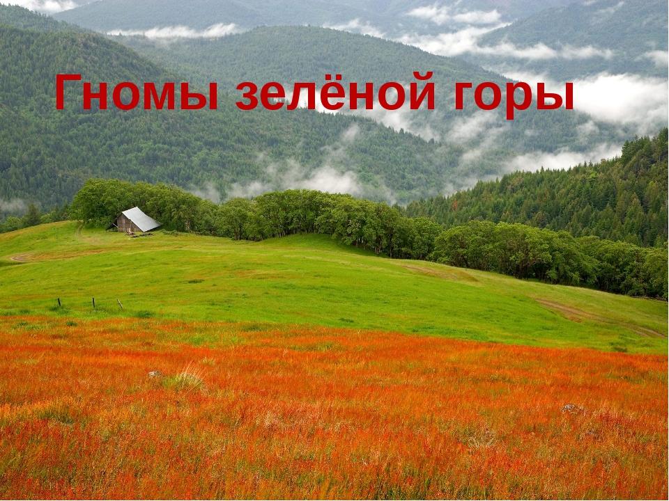 Гномы зелёной горы
