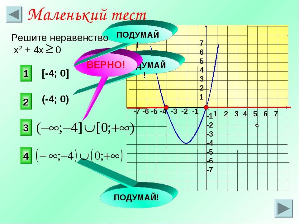 1 2 3 4 5 6 7 -7 -6 -5 -4 -3 -2 -1 7 6 5 4 3 2 1 -1 -2 -3 -4 -5 -6 -7 [-4; 0]...