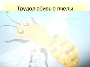 Трудолюбивые пчелы