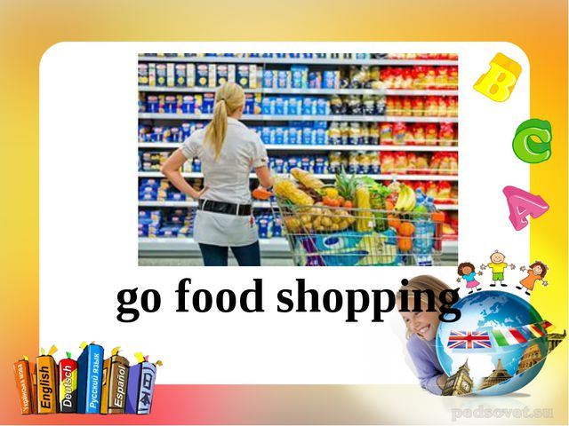 go food shopping