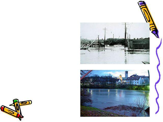 Überschwemmung Die Überschwemmungen sind eine der folgenschwersten Naturkatas...