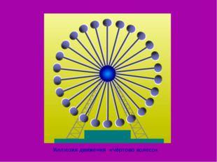 Иллюзия движения «Чёртово колесо»