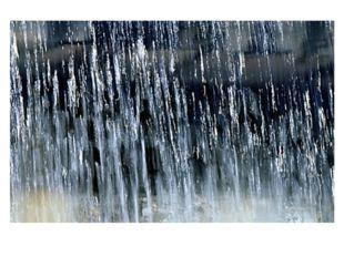 Струи дождя сравнивают с линиями, колкими или мягкими, непрерывными или прер