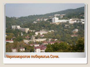 Черноморское побережье.Сочи.