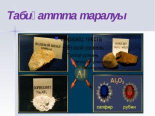 Алюминий өндірісінде шикізат ретінде қөбінесе бокситтер Al2O3 * nH2O қолданыл