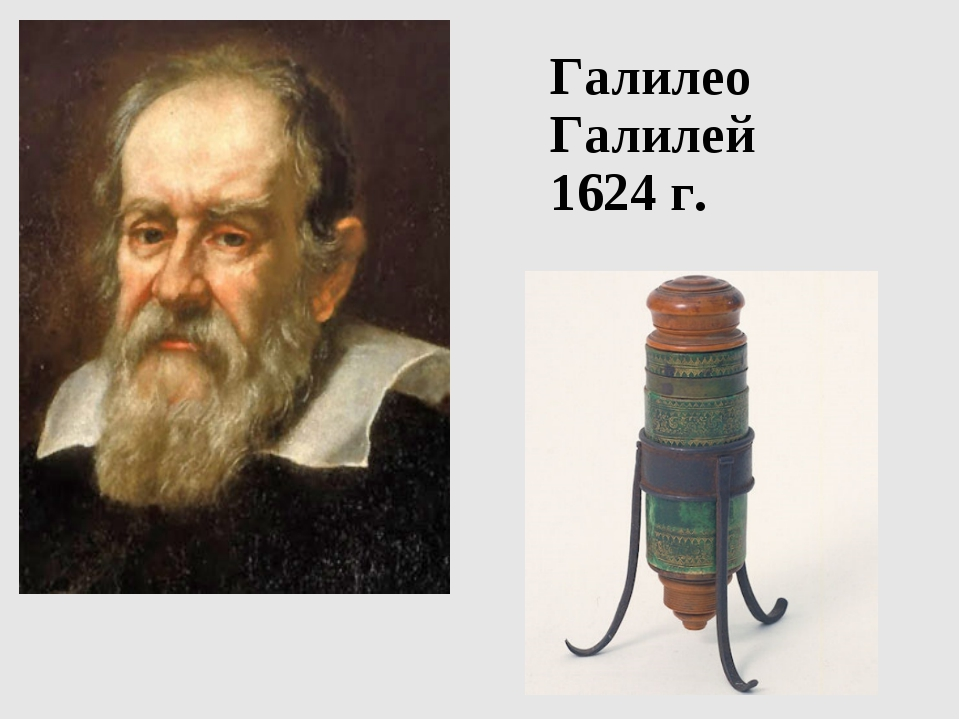 Галилео Галилей 1624 г.