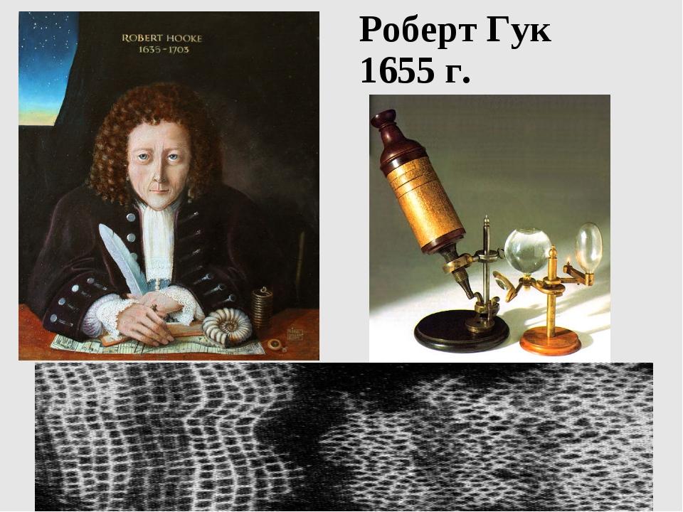 Роберт Гук 1655 г.