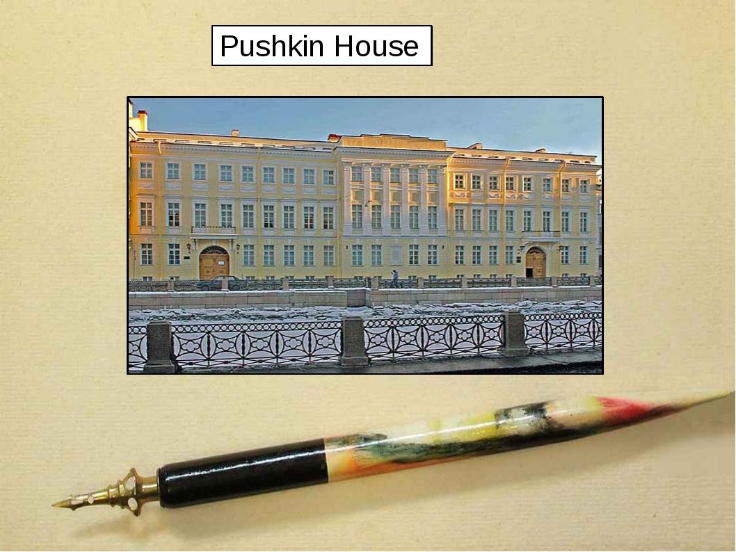 Pushkin House