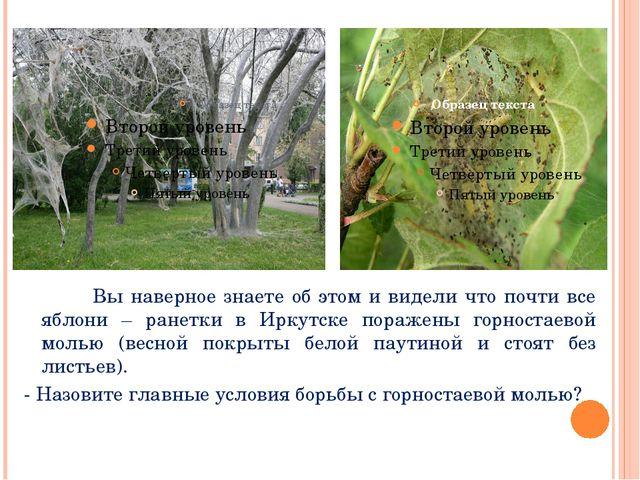 Вы наверное знаете об этом и видели что почти все яблони – ранетки в Иркутск...