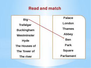 Palace London Thames Abbey Ben Park Square Parliament Big Trafalgar Buckingha
