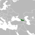 Europe Location Georgia uncontrolled highlighted proper.svg