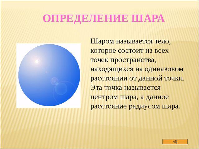 ПЛОЩАДИ ПОВЕРХНОСТЕЙ ТЕЛ ВРАЩЕНИЯ фигура правило Площадь боковой поверхности...