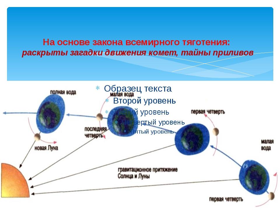 На основе закона всемирного тяготения: раскрыты загадки движения комет, тайн...