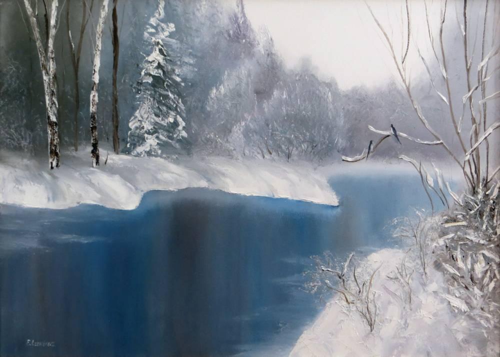 Новые картины художников зимы