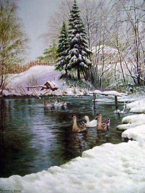 Картины зимы русских художников. Обсуждение на LiveInternet …