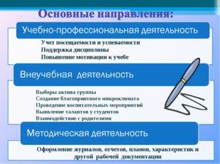 Учет посещаемости и успеваемости Поддержка дисциплины Повышение мотивации к у