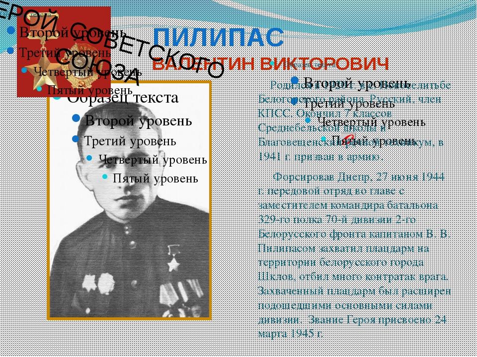 РОМАНЮК НИКОЛАЙ ИВАНОВИЧ Родился в 1922 г.в с. Анновке Ивановского района. Ук...