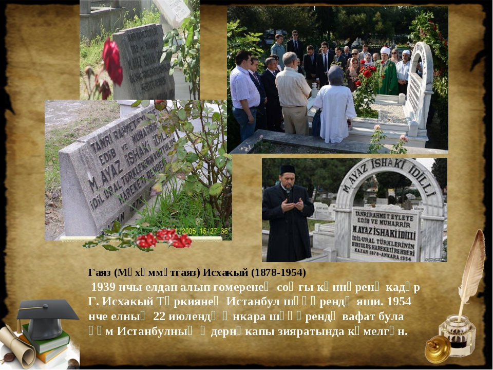 Гаяз (Мөхәммәтгаяз) Исхакый (1878-1954) 1939 нчы елдан алып гомеренең соңгы к...