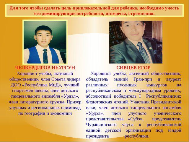 СИВЦЕВ ЕГОР Хорошист учебы, активный общественник, обладатель званий Гран-при...