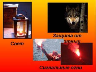 Свет Защита от животных Сигнальные огни