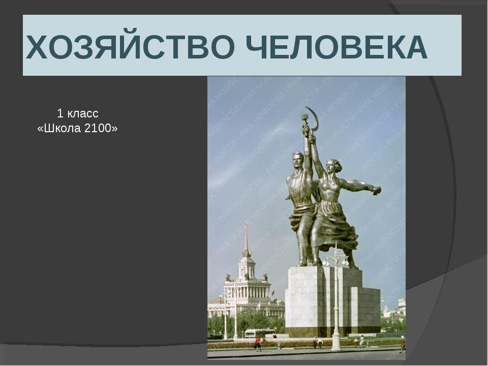 ХОЗЯЙСТВО ЧЕЛОВЕКА 1 класс «Школа 2100»