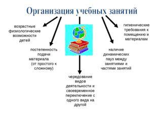 возрастные физиологические возможности детей постепенность подачи материала (