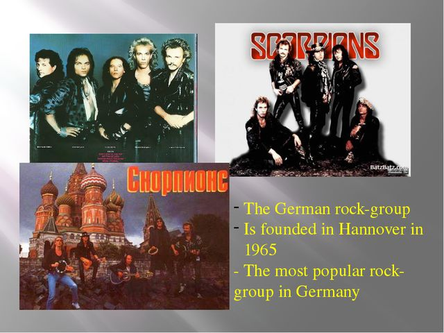 The German rock-group Is founded in Hannover in 1965 - The most popular rock-...