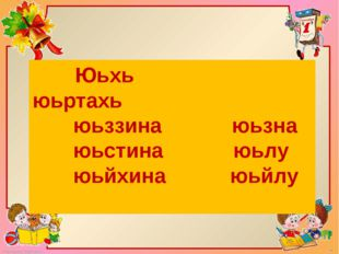 Юьхь юьртахь юьззина юьзна юьстина юьлу юьйхина юьйлу FokinaLida.75@mail.ru