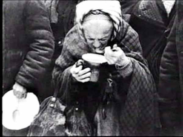 Блокада Ленинграда голодная женщина - фото
