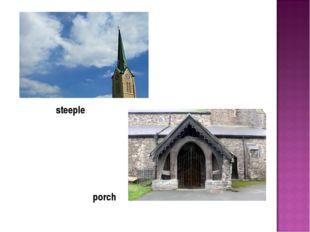 porch steeple
