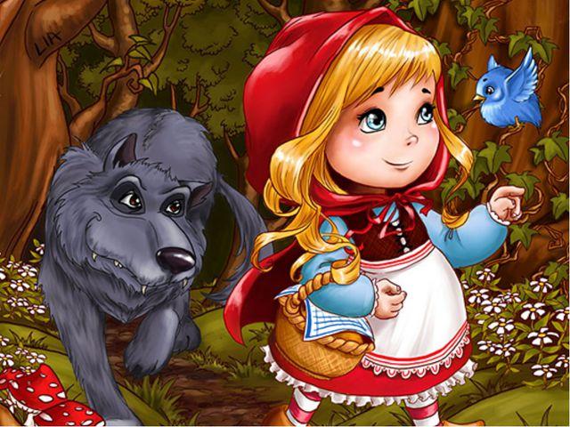 Маленькая девочка весело бежит По тропинке к домику, что в леcу стоит. Нужно...
