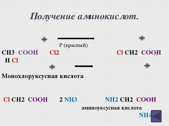 Свойства АК Аминогруппа – основные свойства. Карбоксильная группа – кислотные...
