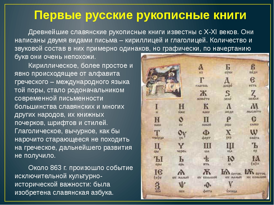 Первые русские рукописные книги Древнейшие славянские рукописные книги извес...