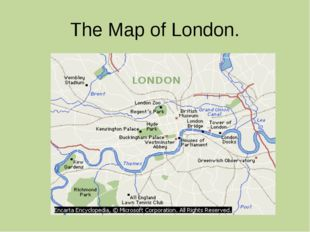 The Map of London.