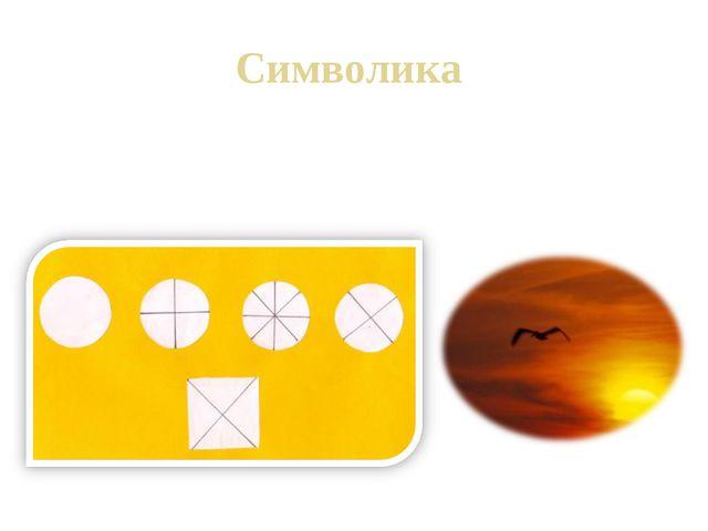 Символика Символика – выражение отношения к миру с помощью условных знаков, с...